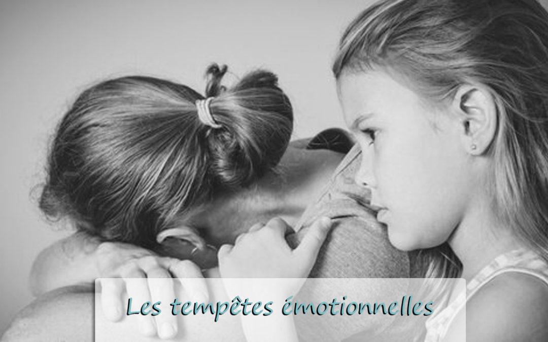 Les tempêtes émotionnelles qui nous empêchent d'avancer et ce que nous pouvons éviter à nos enfants