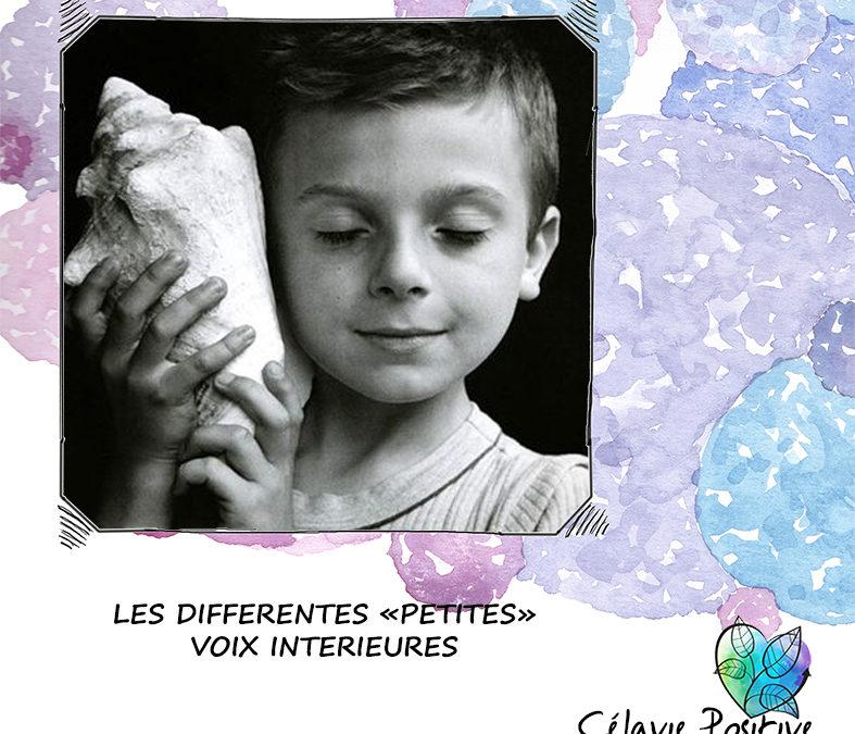 """LES DIFFÉRENTES """"PETITES"""" VOIX INTÉRIEURES"""